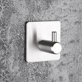 High-End Наклейки Клей Крючки Из Нержавеющей Стали Дверь Одежды Пальто Шапка Вешалка Кухня Ванная комната Rustproof Полотенце Крюк