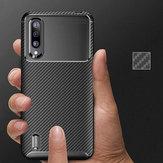 Bakeey Luxury Carbon Fiber Silicone Caso de proteção à prova de choque para Xiaomi Mi9 Mi 9 Lite / Xiaomi Mi CC9