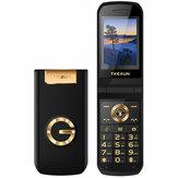 TKEXUN G9000 2,4 inch 3800 mAh Touchscreen Magic Voice Speed Dial Trillingen Dual SIM-kaart Functie Telefoon