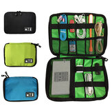 Waterproof Travel Carry Pouch Protective Case Nylon Bag Data Cable Storage Bag