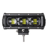 9 بوصة 30W LED Work ضوء Bars 9D Lens مفرد Row 6000K 9-32V For Off Road 4WD Trucks SUV ATV Trailer Motorcycle
