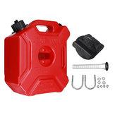 5L serbatoio di benzina portatile Jerry Can Gas benzina con staffa serratura per ATV UTV moto auto Gokart