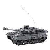 XJ13 4CH 2.4G RC Tank Car Vehicle with موسيقى ضوء Children Toy