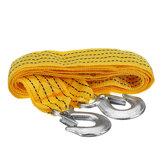 3 Metre Çekme Çekme Çekme Rope Kablo Kayışı 3 Ton Ağır Hizmet Tipi Römork Rope Aletler kiti