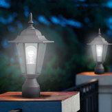 40 Вт На открытом воздухе Настенный Фонарь Лампа LED Сад Лампа Двор Патио Столб Свет Свечи Безопасности