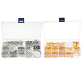 660Pcs/Set Jewelry Making Kit DIY Earring Findings Hook Pins Mixed Handcraft Accessories