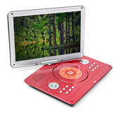 16 Inch 270° Rotation Portable DVD Player Car Game USB TV AV In Out  Remote Control