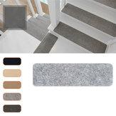 14Pcs 75x20cm Almohadillas antideslizantes para escaleras de uso repetido Alfombrilla adhesiva Parte inferior adhesiva