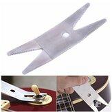 Chave de aço mais baixa chave da ferramenta de Luthier da guitarra para apertar interruptores dos potenciômetros