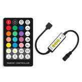 DC5-24V Mini 3Keys IR RGB LED-dimmercontroller + 28Keys afstandsbediening voor striplicht
