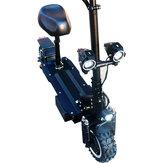 ZAPCOOLT10326Ah60В3600 Вт Двойной складной электрический самокат Мотор 11 дюймов 80 км / ч Максимальная скорость Макс. Нагрузка 200кг эл