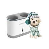 Dog Paw Cleaner Cup Silikonowe grzebienie Automatyczna myjka do stóp UV Sterylizacja Przenośna myjka do stóp Pet Ładowanie USB
