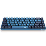AKKO 3068 SP Ocean Star 68 Keys Mechanical Gaming Keyboard Cherry Switch Side Printed USB 2.0 Type-C Wired Gaming Keyboard