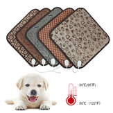 45x45cm Waterproof Electric Pet Pads Blanket Heat Heated Heating Pet Mat Dog Cat Bunny