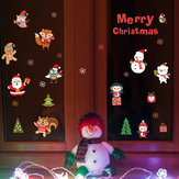 Miico SK6038 Christmas Sticker Novetly Cartoon Wall Stickers For Kids Room Decoration Christmas Party