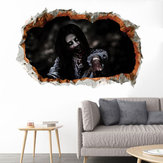 Miico FX64111 Halloween 3D Horror Adorno Adhesivo de pared Decoración de Halloween
