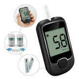Blood Glucose Monitor Diabetes Testing Blood Sugar Meter With Test Strips Kit