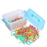 400pcs Smart Stick Puzzle Toys Children's Educational Building Block Toys