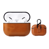 Leather Case for Airpods1/2 Earphone Strap Leather Storage Cover Cases with Buttons Leather Protective Skin Leather Case with Hook