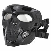 Wosport Skull Tactical Airsoft Maske Paintball CS Military Protective Full Face Für schnelle Helme