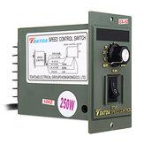 UX-52 AC220V 50Hz 15W Digital ajustável Stepless Motor Speed Controller Parte Acessório 1400rpm