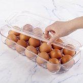 16 Roosters HUISDIER Verse eieren Opbergdoos Houder Geval Koelkast Voedselcontainer
