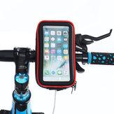 Wodoodporny Rower Motocykl Kierownica Telefon Torba Uchwyt Telefonu do 4,6-6,5 cala Smart Phone iPhone XS Max Samsung Galaxy S10 +