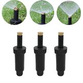 90/180/360 Degree P op Up Spray Head Adjustable Sprinklers Buried Nozzle for Watering Lawn Garden Irrigation