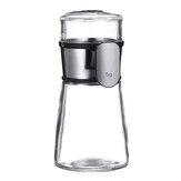 Seasoning Jar Bottles Salt Dispenser Glass Spice Container Kitchen Accessories
