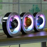LED Electronic Magnetic Floating Globe Levitation Decor Planet Earth Map Gift