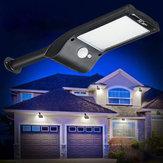 36 LED Solar Wall Street Light PIR Movimiento Sensor Impermeable al aire libre Jardín Lámpara