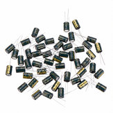 50Pcs 25V 470UF 8 x12MM High Frequency Low ESR Radial Electrolytic Capacitor