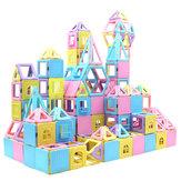 78 ШТ. Магнитные Блоки Строительный Набор Магнит Укладка Игрушки для Детей Магнит Плитка Комплекты Подарок