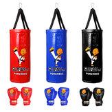 ボクシングバッグ子供土嚢手袋ホームスポーツジュニアTrainningパンチングセット
