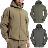 Waterdichte heren tactische winterjas Cargo Soft Shell militaire jas windjack