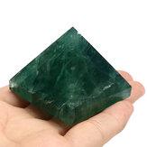 Cristalli di piramide di fluorite naturale Guarigione Display Decorazioni con pietre di quarzo