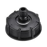 1/2 '' 3/4 '' Boquilla adaptadora para tanque de agua IBC S60x6 Conexión rápida Rosca gruesa Manguera Válvula de repuesto para grifo de tubería Piezas de ajuste