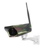 1080P Solar Powered Wireless WiFi IP Camera Outdoor Security Home Night Vision