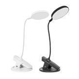 Bakeey Recargable con carga USB ajustable LED Smart Touch Table Desk Lámpara Clip Luz de lectura
