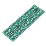 10PCS SOT23 SOP10 MSOP10 Umax SOP23 to DIP10 Pinboard SMD To DIP Adapter Plate 0.5mm/0.95mm to 2.54mm DIP Pin PCB Board Converter