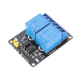 3pcs 2 Channel 5V DC Relay Module Relay Drive Module Control Board