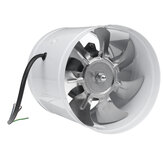 40W 6Inch Inline Duct Fan Booster 150mm Exhaust Blower Air Cooling Vent Ventilation Fan 1080m³/ h