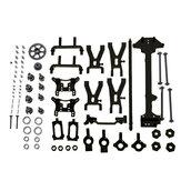 URUAV PY01 Para WLtoys 1:18 A949 A959 A969 A979 K929 Kit de peças de metal atualizado Modelo de veículos RC Modelo de carro de RC