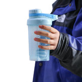 500ML Outdoor Indoor Protein Powder Shake Mixing Sports Water Bottle Fitness Kettle
