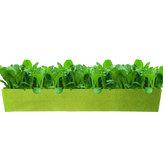 Rechthoek Ademend niet-geweven stof Plant Bed Bloem Planter Groentendoos Plantencontainer Groeitassen Tuinbenodigdheden