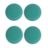 4pcs verts jeux casquettes de manette de couverture de manette de joystick en silicone joystick pour Nintendo Switch lite console de jeux