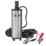 12V Olie Diesel Vloeibare elektrische brandstofoverdrachtpomp Dompelbaar water 32L / min met filternet