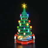 LED Light Lighting Kit ONLY For LEGO 40338 Christmas Tree Lighting Blocks Bricks