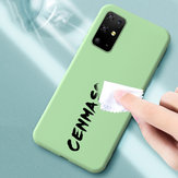 Bakeey Smooth Shockproof Soft Liquid Silicone Rubber Back Cover Protective Case for Samsung Galaxy S20+ / Galaxy S20 Plus