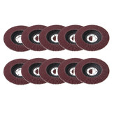 10pcs 115mm Sanding Flap Discs Metal Sanding Flap Discs Grinding Wheel for Angle Grinder